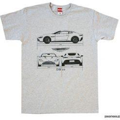 Koszulka ASTON MARTIN DB10 GRAY tshirt. Czarne t-shirty męskie marki Pakamera, m, z kapturem. Za 77,00 zł.