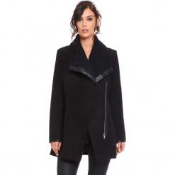 """Płaszcz """"Suzy"""" w kolorze czarnym. Czarne płaszcze damskie Cosy Winter, s, ze skóry. W wyprzedaży za 227,95 zł."""