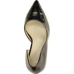 CZÓŁENKA CASU AH86037. Brązowe buty ślubne damskie Casu, na koturnie. Za 69,99 zł.