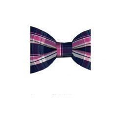 Muchy męskie: Mucha gotowa bowstyle Kolorowa kratka