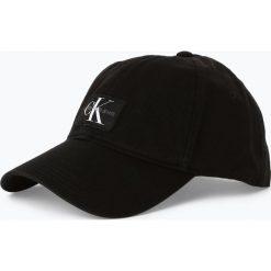 Calvin Klein Jeans - Damska czapka z daszkiem, czarny. Czarne czapki z daszkiem damskie Calvin Klein Jeans, z aplikacjami, z jeansu. Za 159,95 zł.