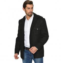 Płaszcz w kolorze czarnym. Brązowe płaszcze męskie AVVA, Dewberry, m. Za 379,95 zł.