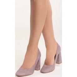 Ciemnoróżowe Czółenka Take No More. Szare buty ślubne damskie marki Born2be, na wysokim obcasie, na słupku. Za 79,99 zł.