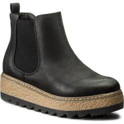 Sztyblety JENNY FAIRY - WS16361-2 Czarny. Czarne buty zimowe damskie Jenny Fairy, z materiału. Za 119,99 zł.
