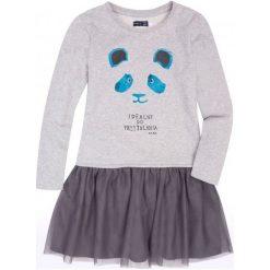 Sukienki dziewczęce: Sukienka z tiulową falbanką dla dziewczynki 9-13 lat