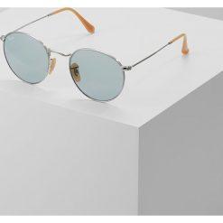 Okulary przeciwsłoneczne męskie: RayBan ROUND METAL Okulary przeciwsłoneczne silver photo blue