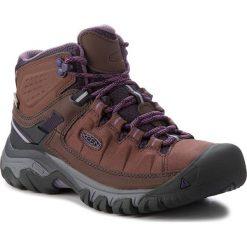 Trekkingi KEEN - Targhee Exp Mid Wp 1017739 French Roast/Purple Plumeria. Brązowe buty trekkingowe damskie Keen. W wyprzedaży za 399,00 zł.