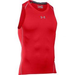 Under Armour Koszulka sportowa UA HEATGEAR ARMOUR TANK czerwona r. S (1271335-600). Czerwone t-shirty męskie marki Under Armour, m. Za 85,00 zł.