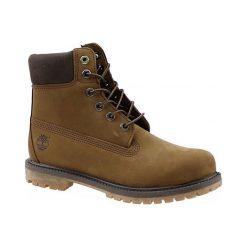 Timberland 6 Premium Boot a19ri 37,5 Brązowe. Czarne buty trekkingowe damskie marki Timberland, z materiału. W wyprzedaży za 699,99 zł.