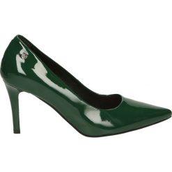 Czółenka - 5015 844 VERD. Szare buty ślubne damskie Venezia, z lakierowanej skóry. Za 289,00 zł.