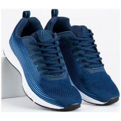 AX BOXING materiałowe obuwie męskie niebieskie. Niebieskie buty sportowe męskie AX BOXING, z materiału. Za 109,00 zł.