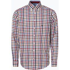 Fynch Hatton - Koszula męska łatwa w prasowaniu, beżowy. Brązowe koszule męskie non-iron Fynch-Hatton, m, z dekoltem karo. Za 249,95 zł.