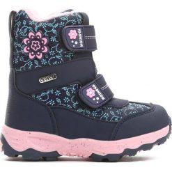 Buty dziecięce: Granatowe Śniegowce Steadfastness