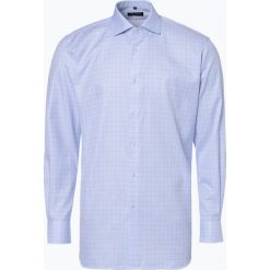 Van Graaf - Koszula męska, niebieski. Niebieskie koszule męskie Van Graaf, m, z bawełny, z klasycznym kołnierzykiem. Za 199,95 zł.