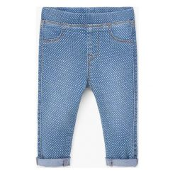 Jeansy dziewczęce: Mango Kids – Jeansy dziecięce Nora 80-98 cm