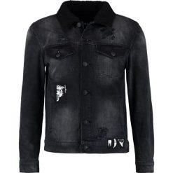 Kurtki męskie bomber: Cayler & Sons PATCHED CLASSIC Kurtka jeansowa faded black