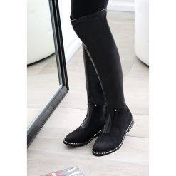 Czarne Kozaki Lust For Life. Czarne buty zimowe damskie vices, na płaskiej podeszwie. Za 159,99 zł.