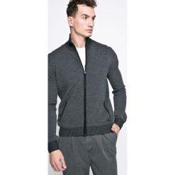 Trussardi Jeans - Sweter. Szare kardigany męskie marki Trussardi Jeans, m, z dzianiny. W wyprzedaży za 399,90 zł.