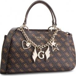 Torebka GUESS - HWSG71 79050 BROWN. Niebieskie torebki klasyczne damskie marki Guess, z materiału. Za 649,00 zł.