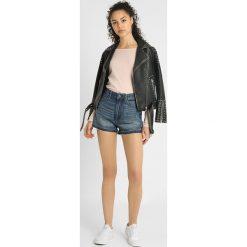GStar ARC HIGH BF SHORT Szorty jeansowe medium aged. Niebieskie bermudy damskie G-Star, z bawełny. Za 369,00 zł.