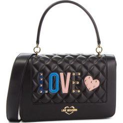 Torebka LOVE MOSCHINO - JC4225PP06KC0000  Nero. Czarne torebki klasyczne damskie Love Moschino, ze skóry ekologicznej. Za 919,00 zł.