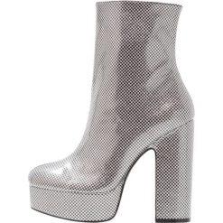 Botki damskie lity: Shellys London ISSA Botki na obcasie silver/black