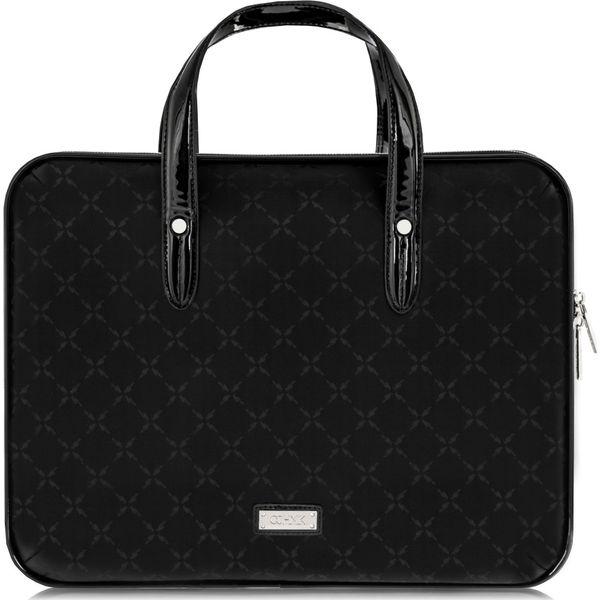 47ca81bd0cb21 Aktówka damska - Czarne torby na laptopa Ochnik