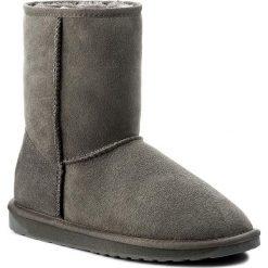 Buty EMU AUSTRALIA - Stinger Lo Charcoal W10002 Charcoal. Szare buty zimowe damskie EMU Australia, z gumy. Za 729,00 zł.