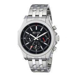 """Zegarki męskie: Zegarek """"5003.1"""" w kolorze srebrno-czarnym"""