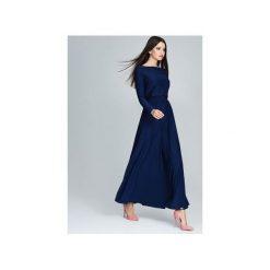 Sukienki: Sukienka M604 Granat