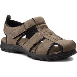 Sandały męskie: Sandały GINO LANETTI – MS17011-2 Khaki