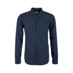 S.Oliver Koszula Męska Xxl Niebieski. Szare koszule męskie marki S.Oliver, l, z bawełny, z włoskim kołnierzykiem, z długim rękawem. Za 159,00 zł.