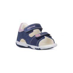 Sandały Dziecko  Geox  C4BE8 NICELY AVIO. Niebieskie sandały dziewczęce Geox. Za 153,53 zł.