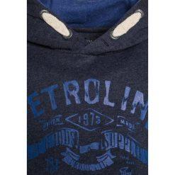 Petrol Industries Bluza z kapturem deep capri. Niebieskie bluzy chłopięce rozpinane marki Petrol Industries, z bawełny, z kapturem. Za 169,00 zł.
