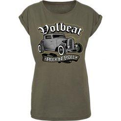 Volbeat Rock'N'Roll Koszulka damska oliwkowy. Zielone bluzki z odkrytymi ramionami Volbeat, l, rockowe. Za 74,90 zł.