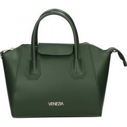 Torba - 142-06-O R VE. Żółte torebki klasyczne damskie Venezia, ze skóry. Za 249,00 zł.