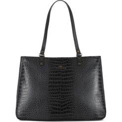 Torebka damska 15-4-324-1. Czarne torebki klasyczne damskie Wittchen. Za 555,00 zł.