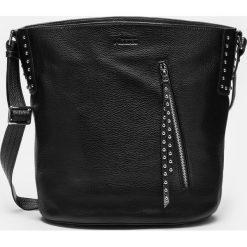 Czarna torebka damska. Czarne torebki klasyczne damskie Kazar, ze skóry. Za 849,00 zł.
