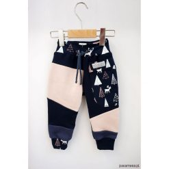 Spodnie chłopięce: PATCH PANTS spodnie 74 - 98 cm Jelonki