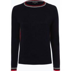 Swetry klasyczne damskie: Franco Callegari - Sweter damski z dodatkiem alpaki, niebieski