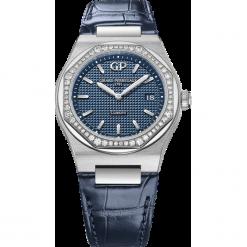 ZEGAREK GIRARD PERREGAUX LAUREATO 34 MM 80189D11A431-CB6A. Niebieskie zegarki damskie GIRARD-PERREGAUX, szklane. Za 40390,00 zł.