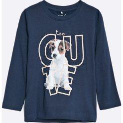 Bluzki dziewczęce bawełniane: Name it - Bluzka dziecięca Ilse 92-128 cm
