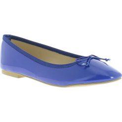 Baleriny damskie: Baleriny w kolorze niebieskim