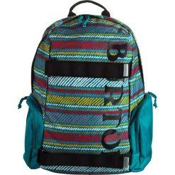 """Plecaki męskie: Plecak """"Emphasis Paint"""" w kolorze turkusowym ze wzorem – 28 x 43,5 x 17 cm"""
