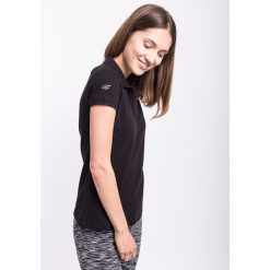 Bluzki sportowe damskie: Koszulka polo damska TSD051AZ – CZARNY