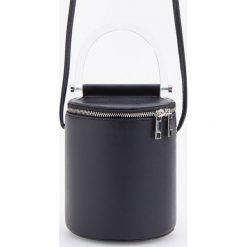 Torebka z plastikową rączką - Czarny. Czarne torebki klasyczne damskie Reserved. Za 119,99 zł.