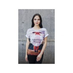 T-shirty męskie z nadrukiem: T-shirt Another World