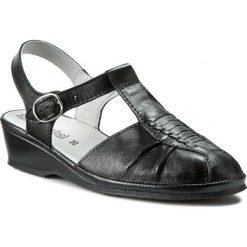 Rzymianki damskie: Sandały COMFORTABEL – 710704 Schwarz 1