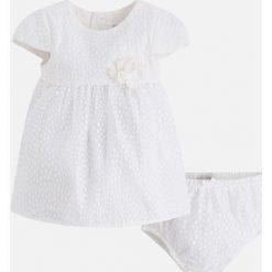 Mayoral - Sukienka dziecięca + majtki 65-80 cm. Szare bielizna dziewczęca Mayoral, z bawełny. Za 159,90 zł.