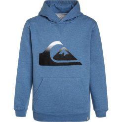 Quiksilver BIG LOGO HOODY  Bluza z kapturem bright cobalt heather. Szare bluzy chłopięce rozpinane marki Quiksilver, krótkie. Za 169,00 zł.